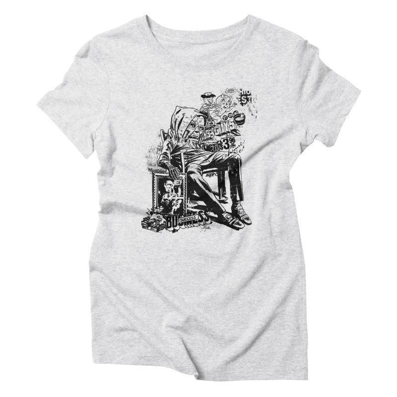 DOOMED Women's Triblend T-Shirt by Paul Rentler