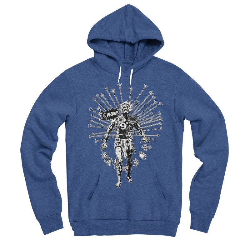 The Jewel Collector (two color) Women's Sponge Fleece Pullover Hoody by Paul Rentler