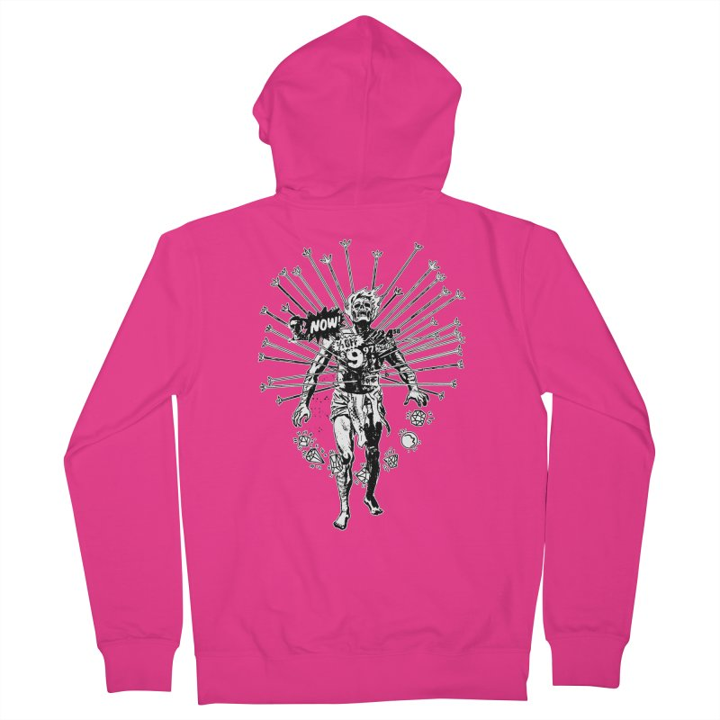 The Jewel Collector (two color) Men's French Terry Zip-Up Hoody by Paul Rentler