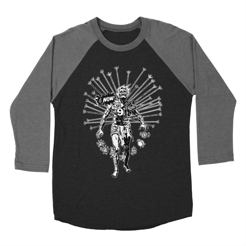 The Jewel Collector (two color) Men's Baseball Triblend Longsleeve T-Shirt by Paul Rentler