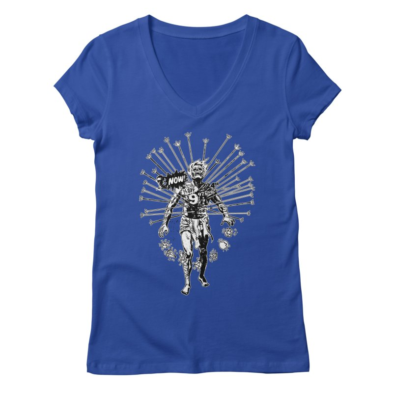 The Jewel Collector (two color) Women's Regular V-Neck by Paul Rentler