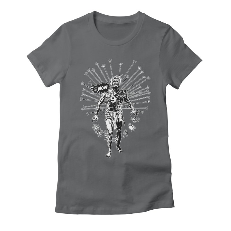 The Jewel Collector (two color) Women's Fitted T-Shirt by Paul Rentler