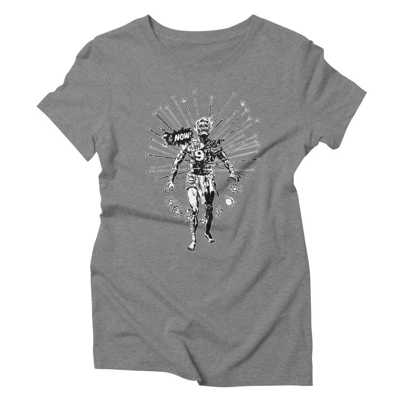 The Jewel Collector (two color) Women's Triblend T-Shirt by Paul Rentler