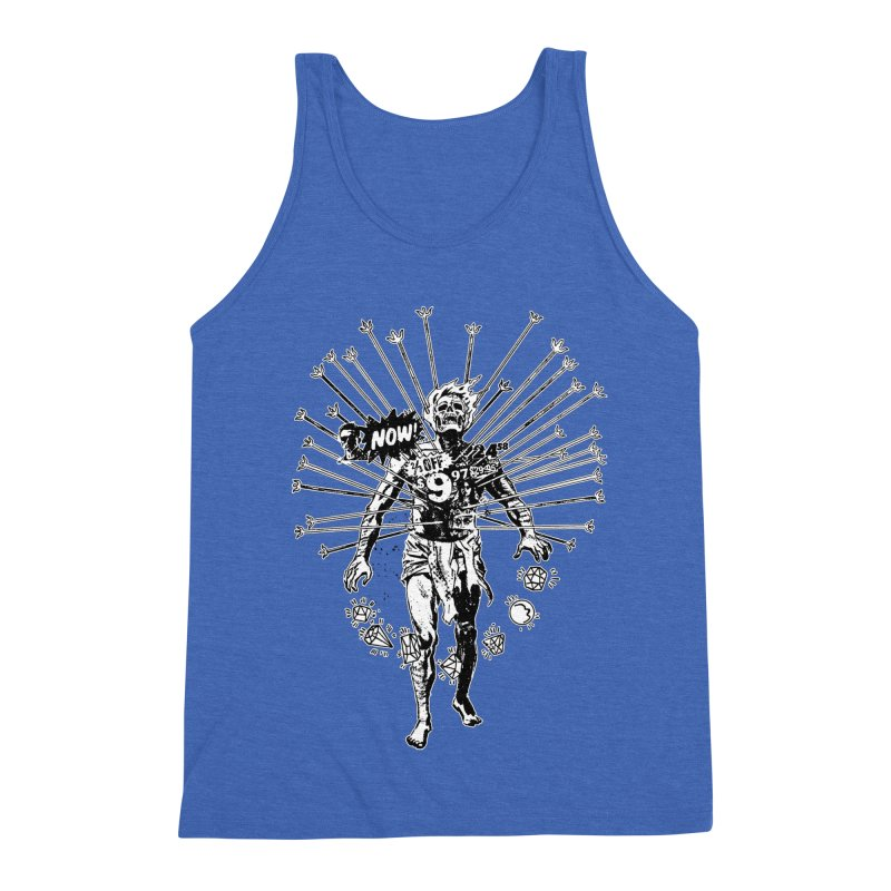 The Jewel Collector (two color) Men's Triblend Tank by Paul Rentler