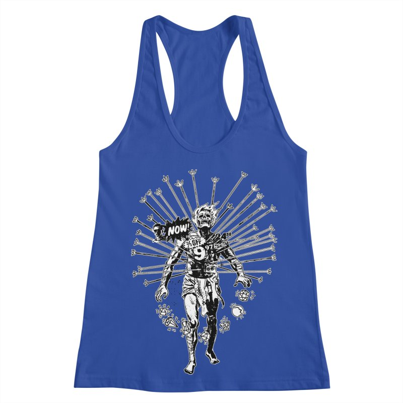 The Jewel Collector (two color) Women's Racerback Tank by Paul Rentler