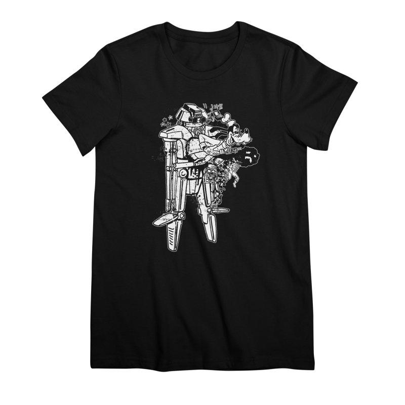 Goffing Around Women's Premium T-Shirt by Paul Rentler