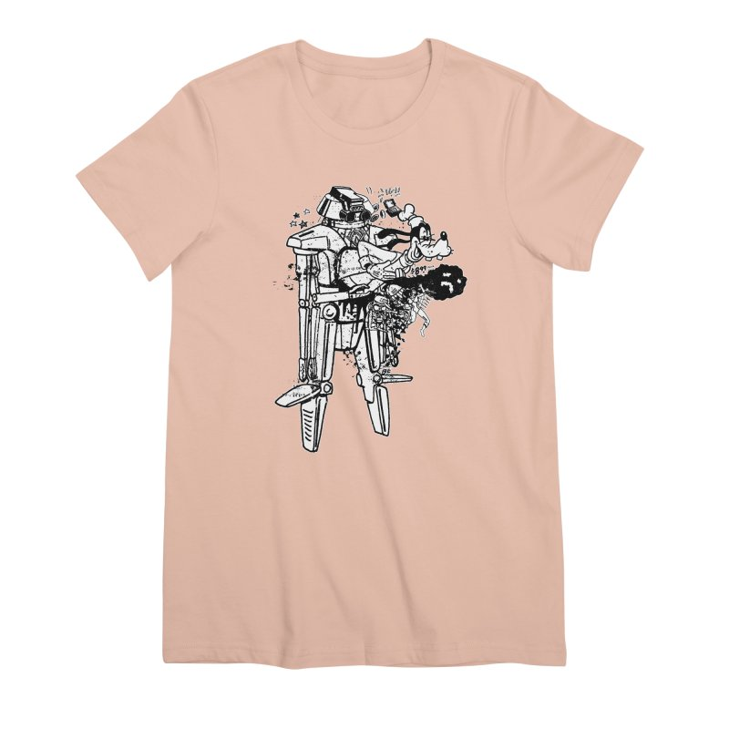 Goffing Around Women's Premium T-Shirt by Paul Rentler