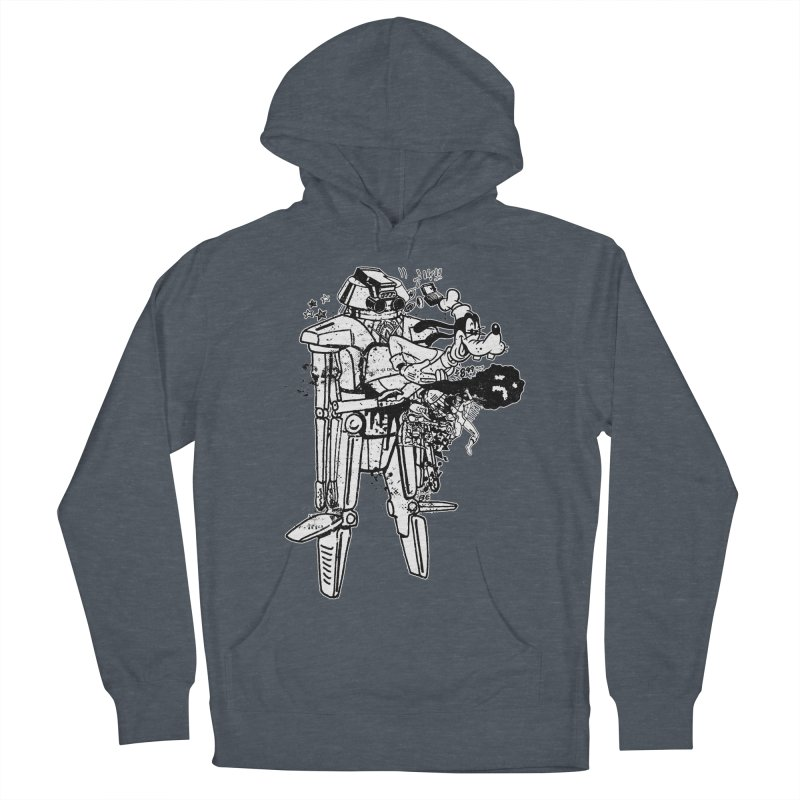 Goffing Around Men's French Terry Pullover Hoody by Paul Rentler