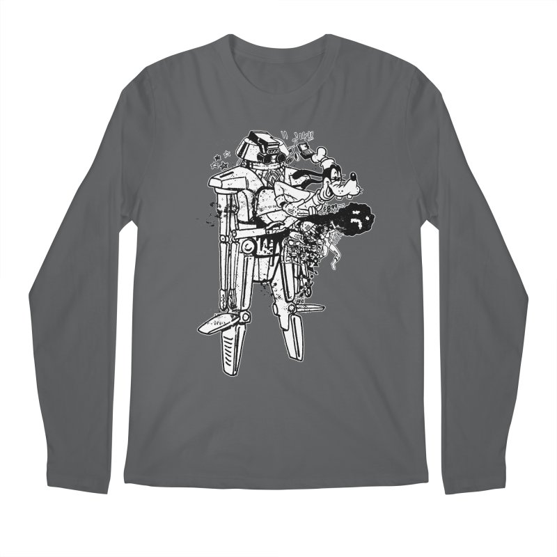 Goffing Around Men's Longsleeve T-Shirt by Paul Rentler