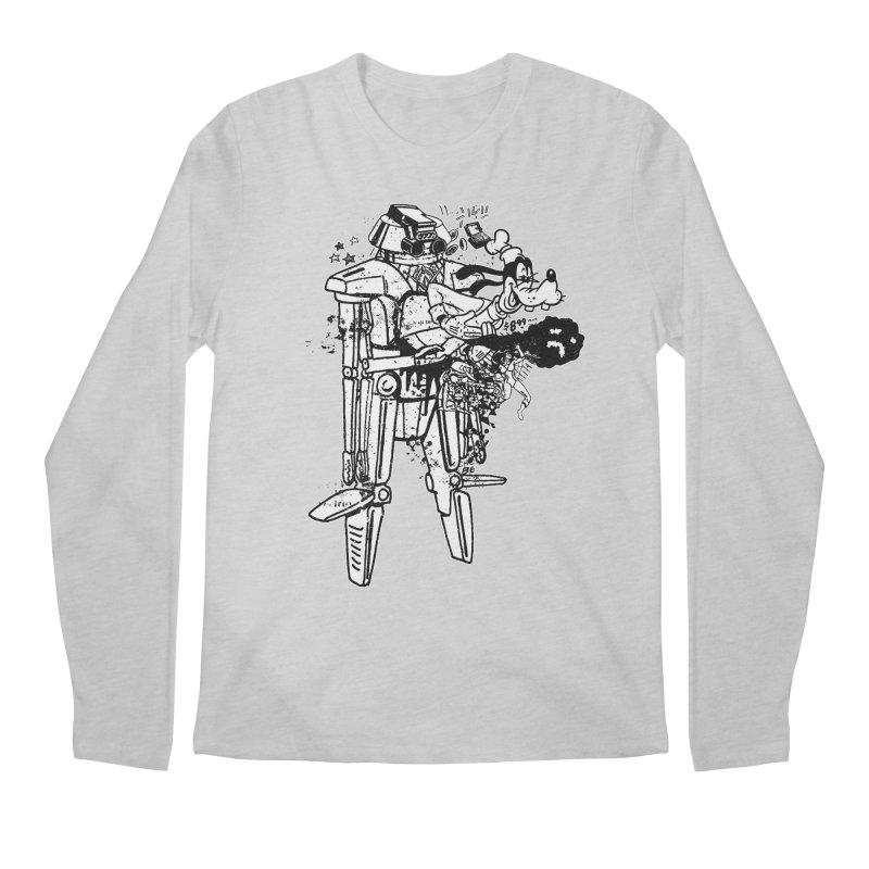 Goffing Around Men's Regular Longsleeve T-Shirt by Paul Rentler