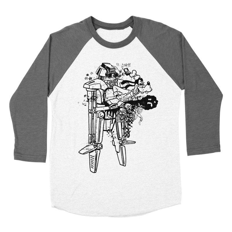 Goffing Around Women's Baseball Triblend Longsleeve T-Shirt by Paul Rentler