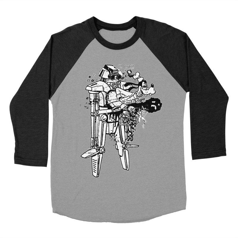 Goffing Around Men's Baseball Triblend Longsleeve T-Shirt by Paul Rentler