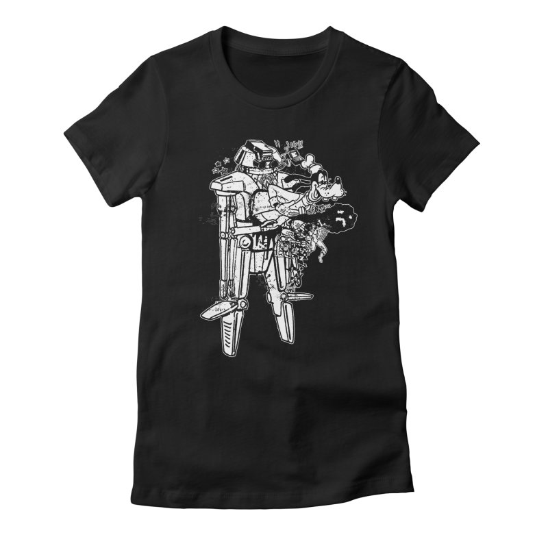 Goffing Around Women's Fitted T-Shirt by Paul Rentler