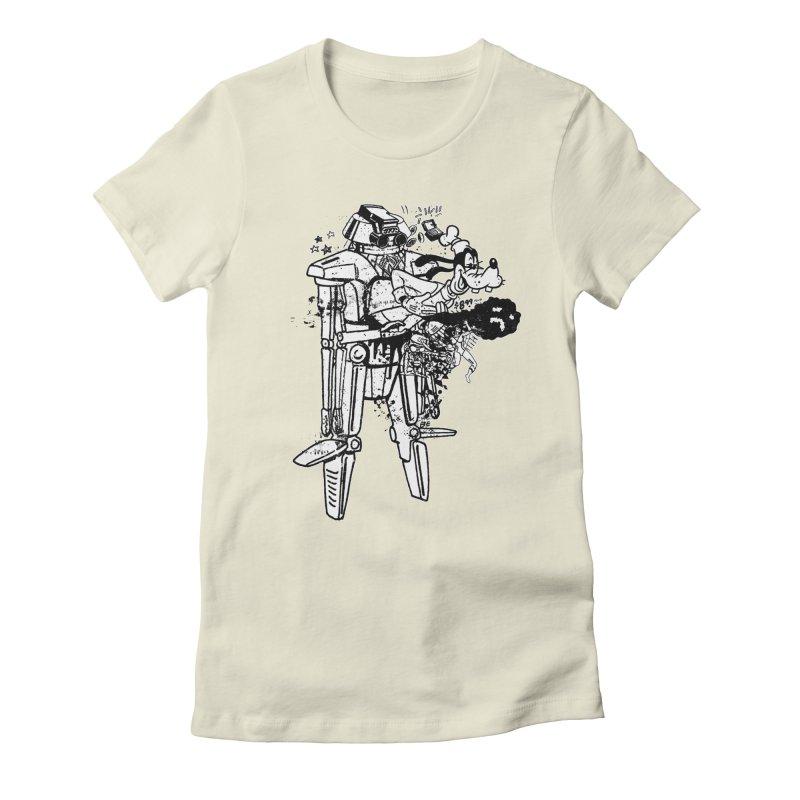 Goffing Around Women's T-Shirt by Paul Rentler