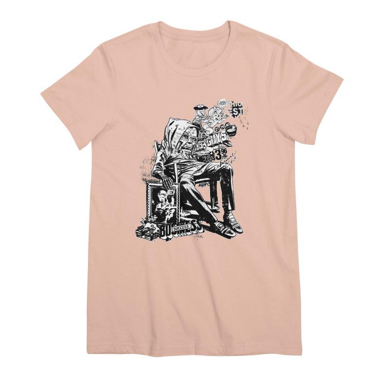 DOOMED (two color) Women's Premium T-Shirt by Paul Rentler