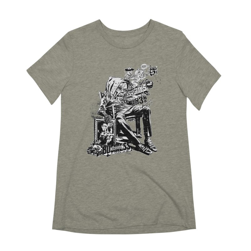 DOOMED (two color) Women's Extra Soft T-Shirt by Paul Rentler