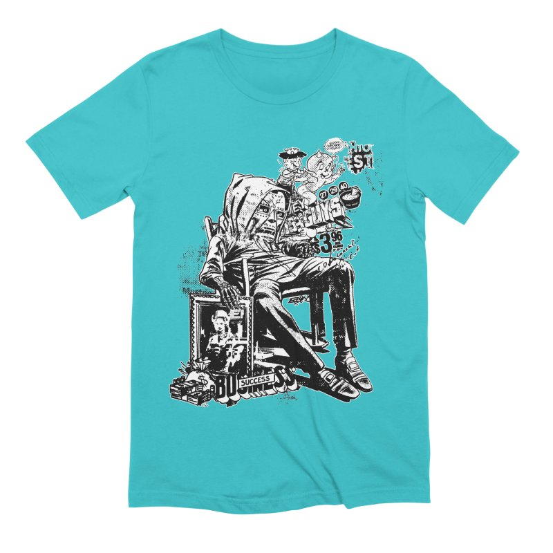DOOMED (two color) Men's Extra Soft T-Shirt by Paul Rentler