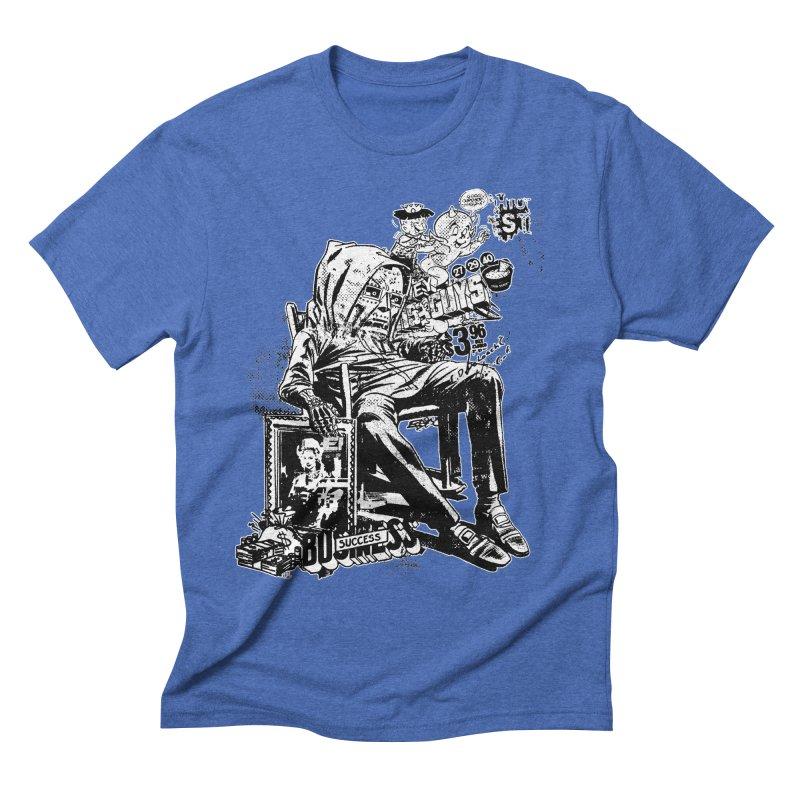 DOOMED (two color) Men's T-Shirt by Paul Rentler