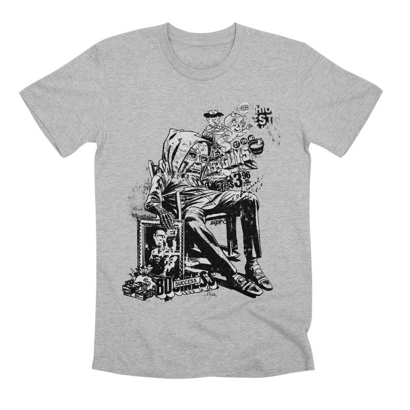 DOOMED (two color) Men's Premium T-Shirt by Paul Rentler