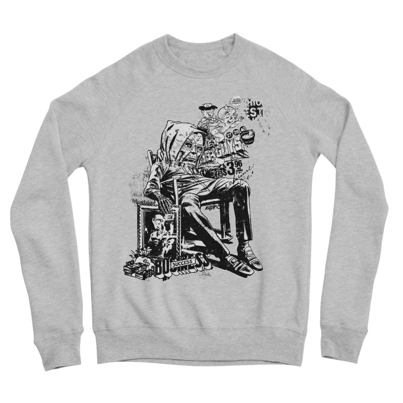 DOOMED (two color) Men's Sponge Fleece Sweatshirt by Paul Rentler