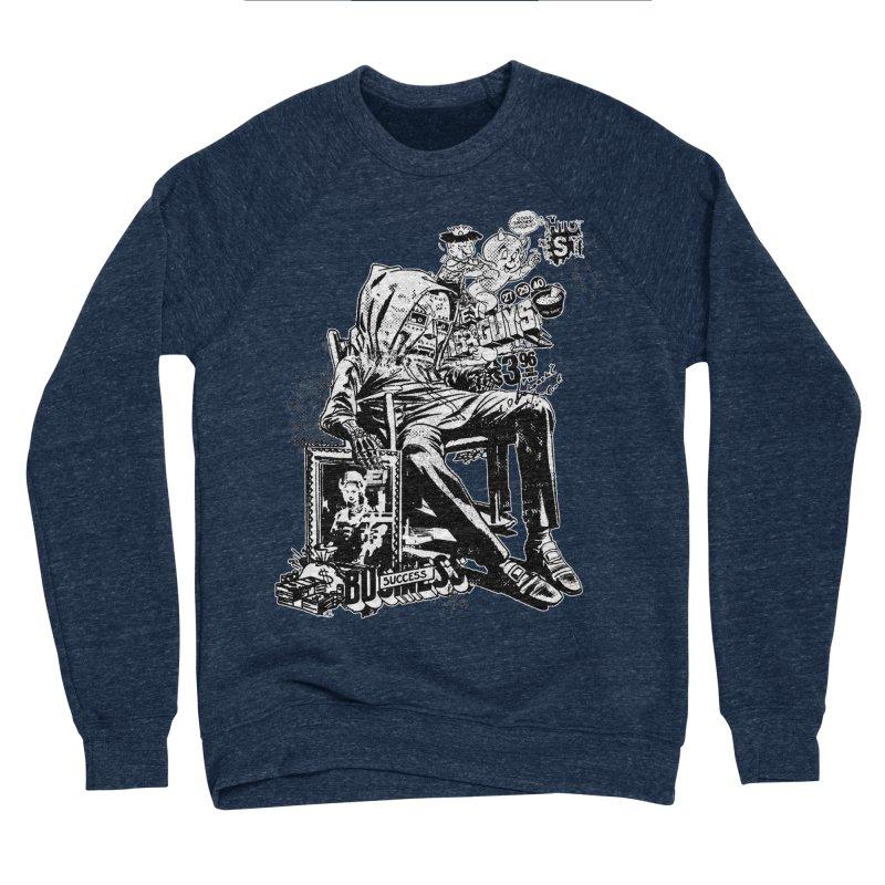 DOOMED (two color) Men's Sponge Fleece Sweatshirt by Paul Rentler