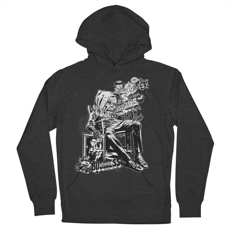 DOOMED (two color) Men's French Terry Pullover Hoody by Paul Rentler