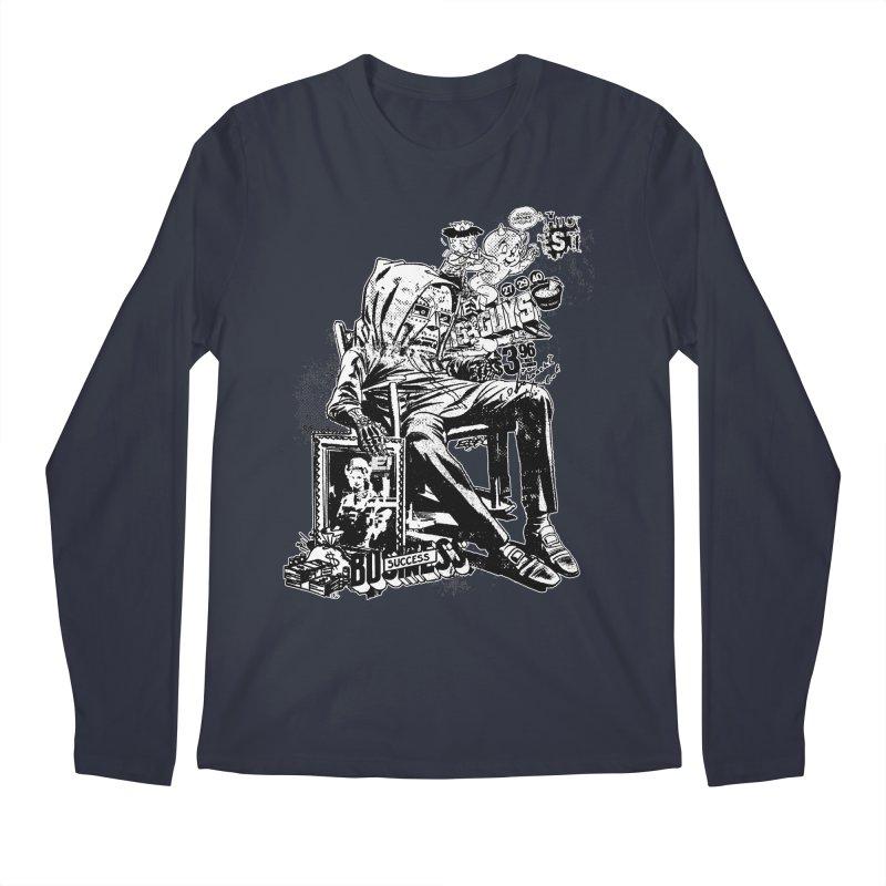 DOOMED (two color) Men's Longsleeve T-Shirt by Paul Rentler