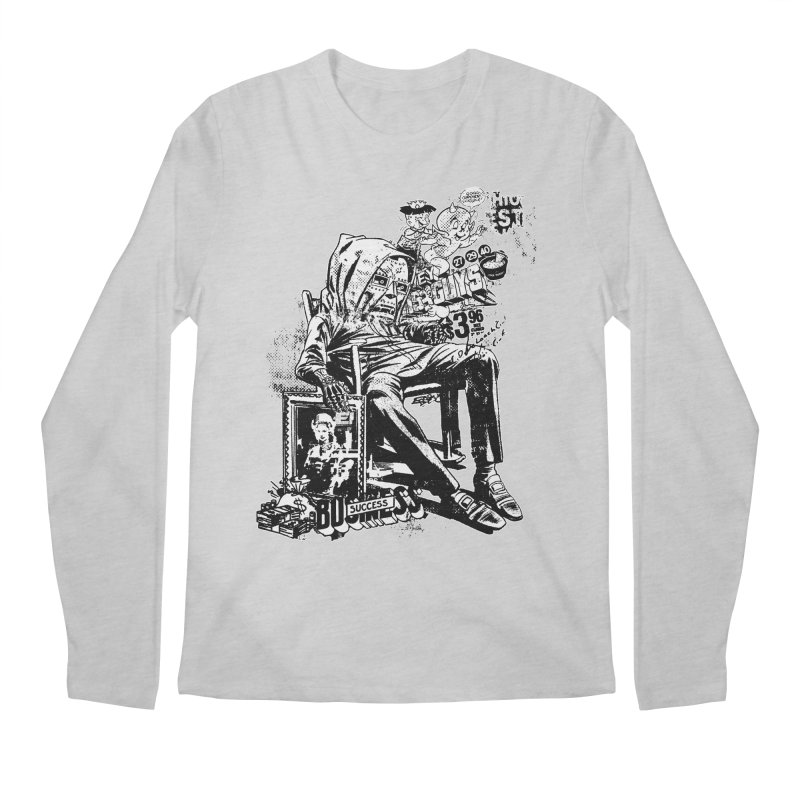 DOOMED (two color) Men's Regular Longsleeve T-Shirt by Paul Rentler