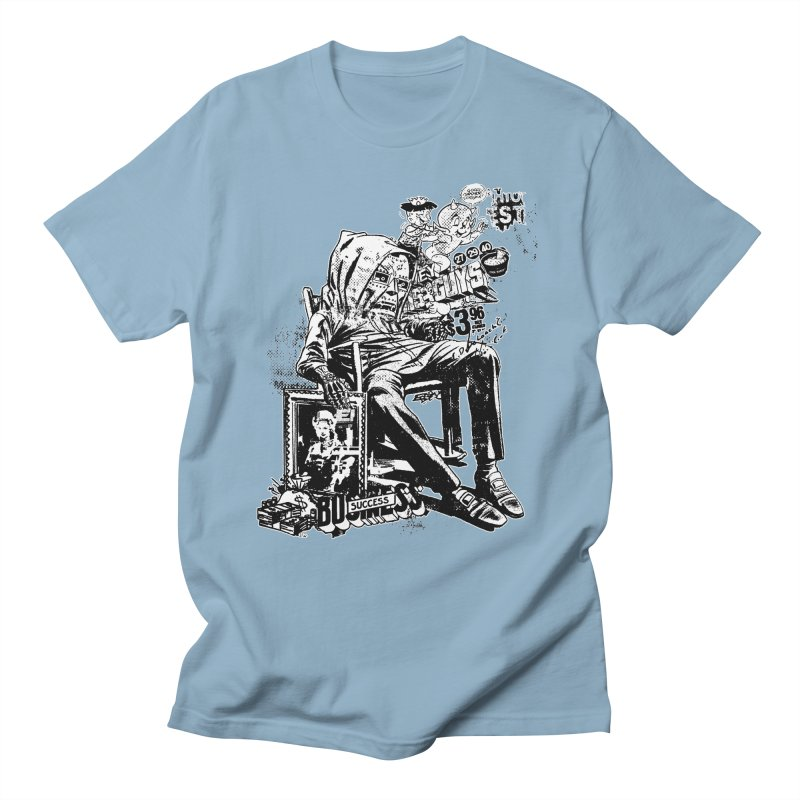 DOOMED (two color) Men's T-Shirt by Paul Rentler