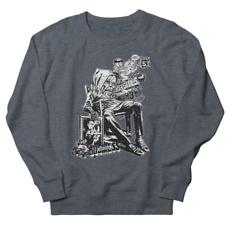 DOOMED (two color) Men's French Terry Sweatshirt by Paul Rentler