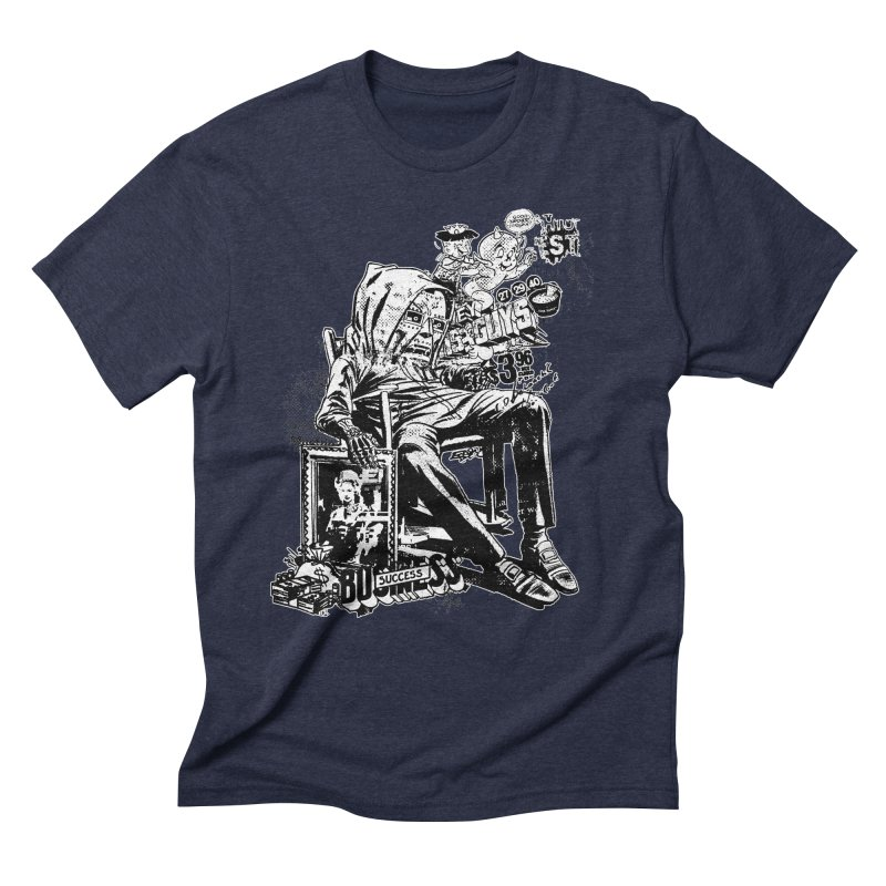 DOOMED (two color) Men's Triblend T-Shirt by Paul Rentler
