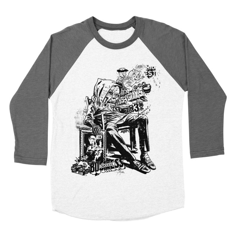 DOOMED (two color) Men's Baseball Triblend Longsleeve T-Shirt by Paul Rentler