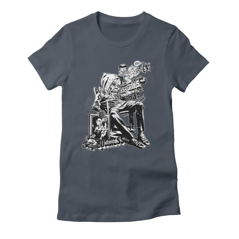 DOOMED (two color) Women's T-Shirt by Paul Rentler