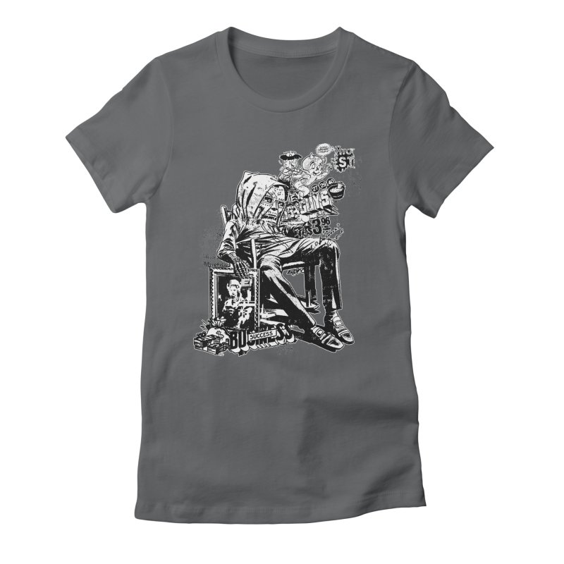 DOOMED (two color) Women's Fitted T-Shirt by Paul Rentler