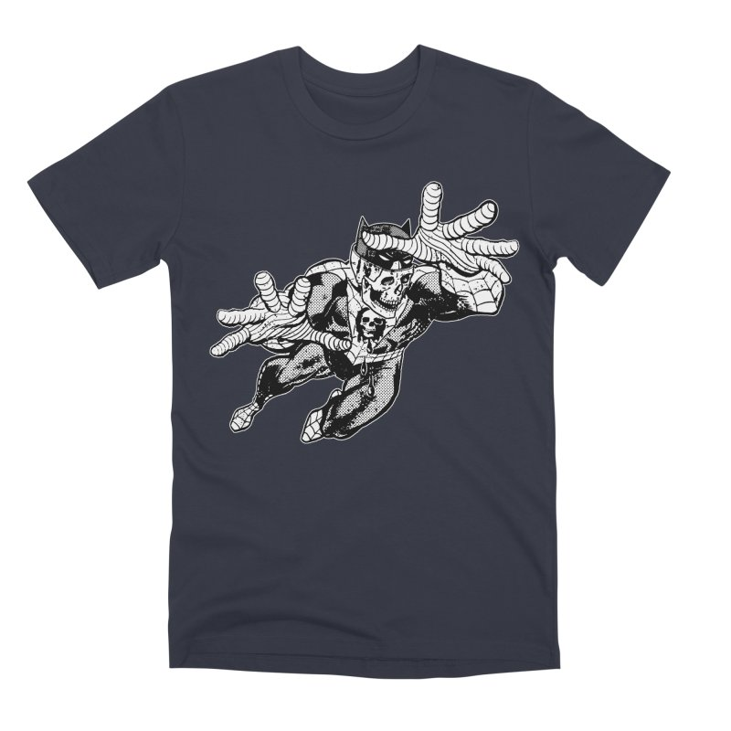 bat-skull-man-spider (two color) Men's Premium T-Shirt by Paul Rentler
