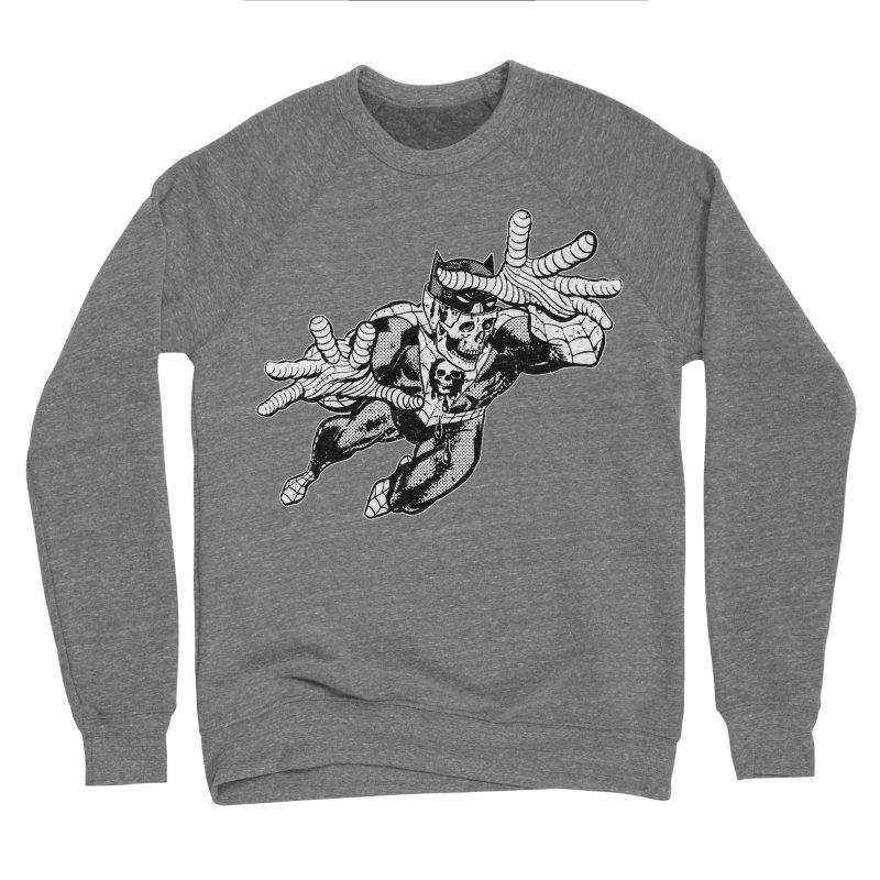 bat-skull-man-spider (two color) Women's Sponge Fleece Sweatshirt by Paul Rentler