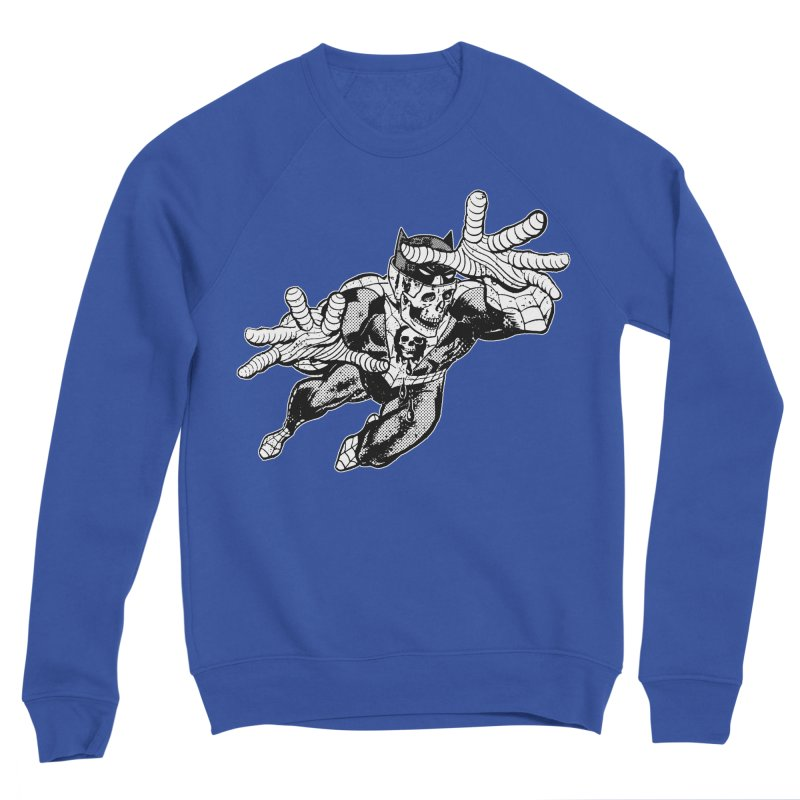 bat-skull-man-spider (two color) Women's Sweatshirt by Paul Rentler