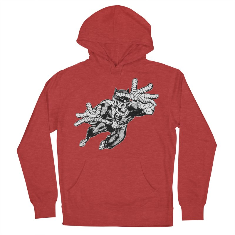bat-skull-man-spider (two color) Women's French Terry Pullover Hoody by Paul Rentler