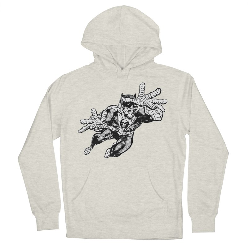 bat-skull-man-spider (two color) Men's Pullover Hoody by Paul Rentler