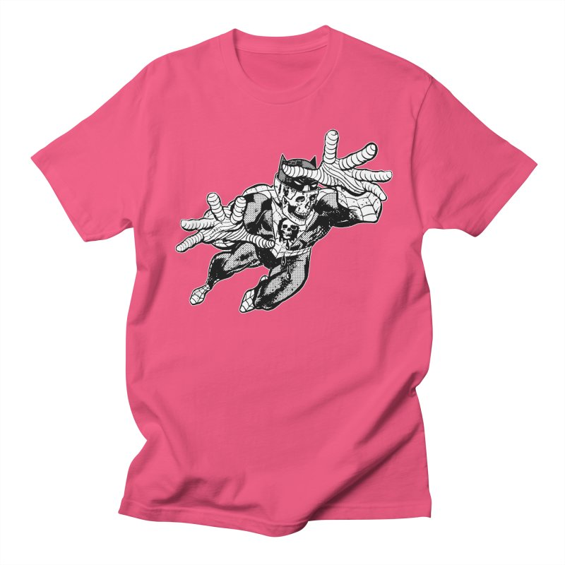 bat-skull-man-spider (two color) Women's Regular Unisex T-Shirt by Paul Rentler