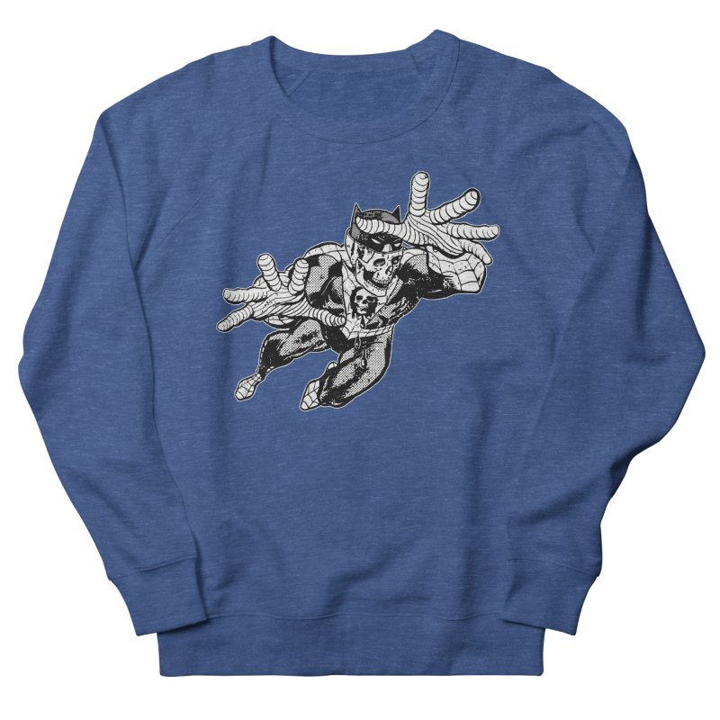 bat-skull-man-spider (two color) Men's Sweatshirt by Paul Rentler