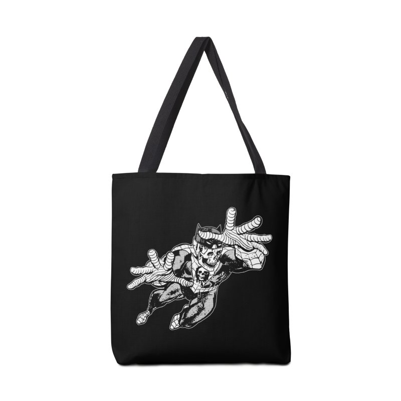 bat-skull-man-spider (two color) Accessories Tote Bag Bag by Paul Rentler