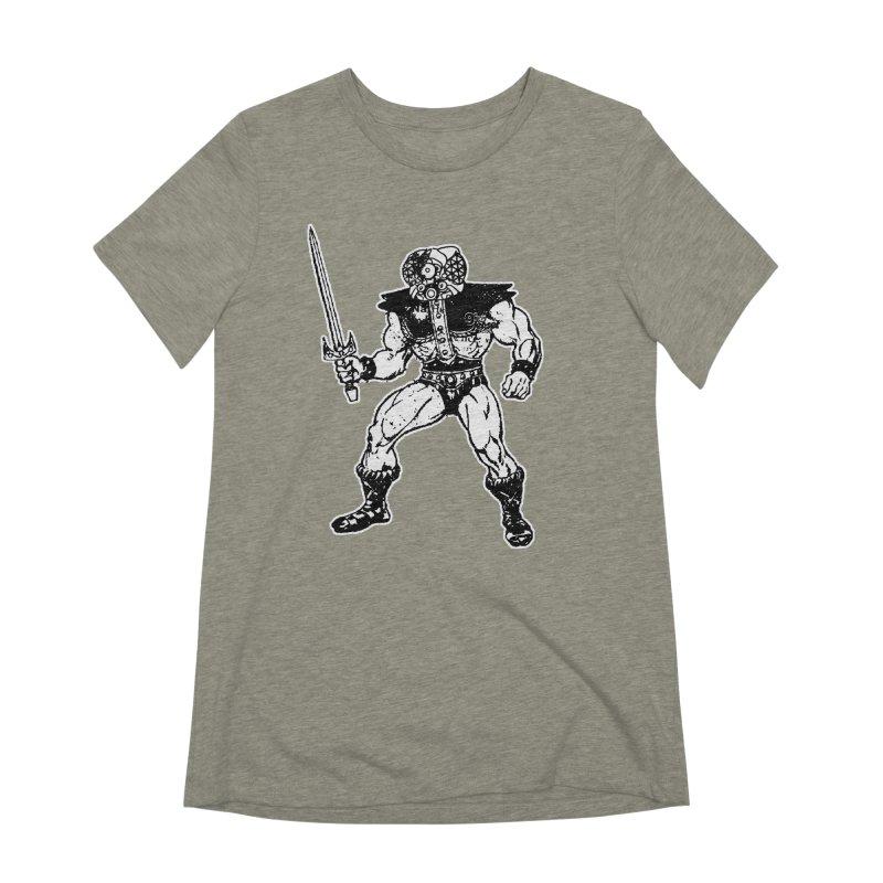 4CLOPS Women's Extra Soft T-Shirt by Paul Rentler