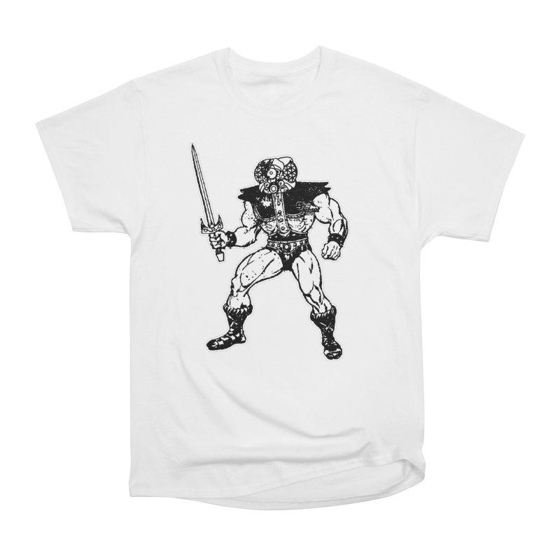 4CLOPS Men's Heavyweight T-Shirt by Paul Rentler