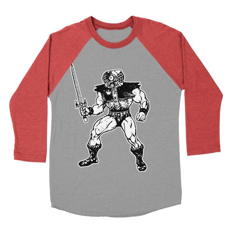 4CLOPS Women's Baseball Triblend Longsleeve T-Shirt by Paul Rentler
