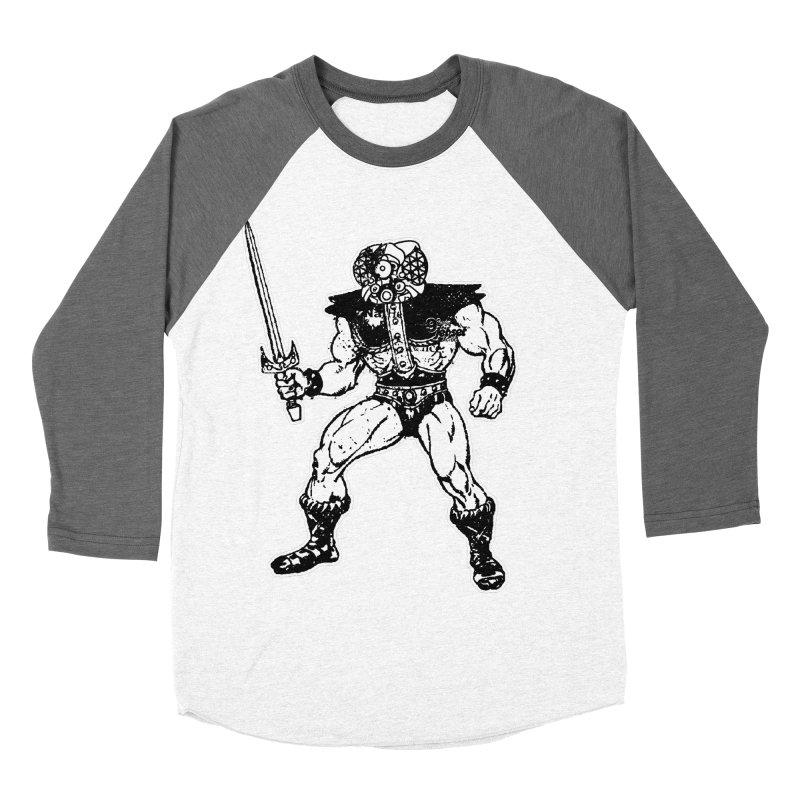 4CLOPS Men's Baseball Triblend Longsleeve T-Shirt by Paul Rentler