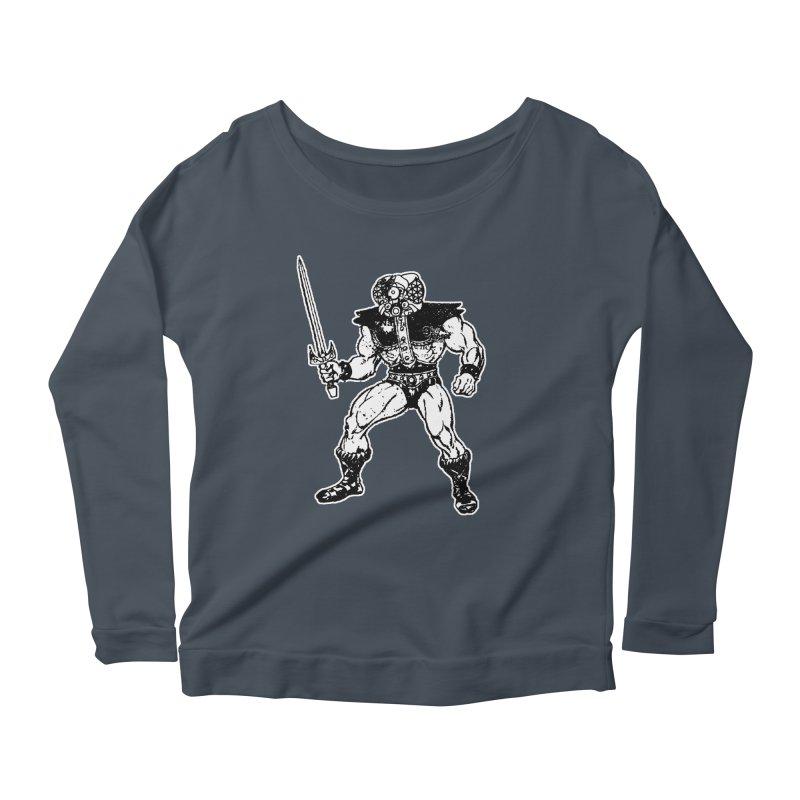 4CLOPS Women's Scoop Neck Longsleeve T-Shirt by Paul Rentler