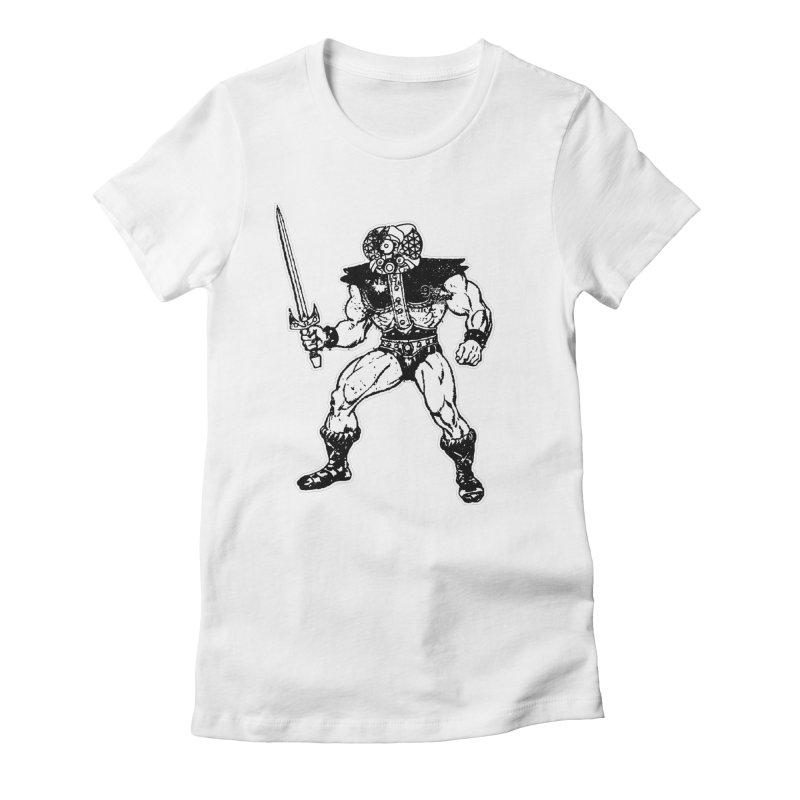 4CLOPS Women's Fitted T-Shirt by Paul Rentler