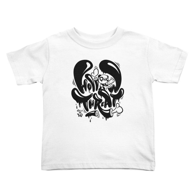 Hollow Threat (LEMON x Paul Shih) Kids Toddler T-Shirt by Paul Shih