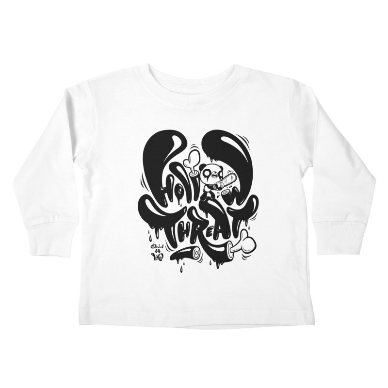 Hollow Threat (LEMON x Paul Shih) Kids Toddler Longsleeve T-Shirt by Paul Shih
